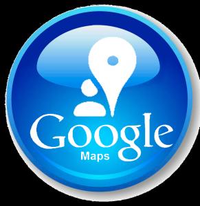 Google maps icona bianca